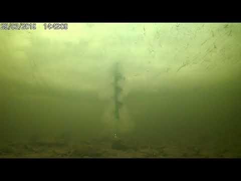 Старая Тотьма  Испытываю камеру  Взгляд из подо льда