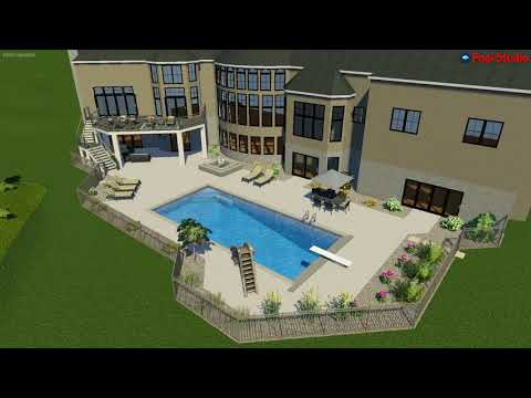 Brookfield, WI Backyard Oasis Concept Video