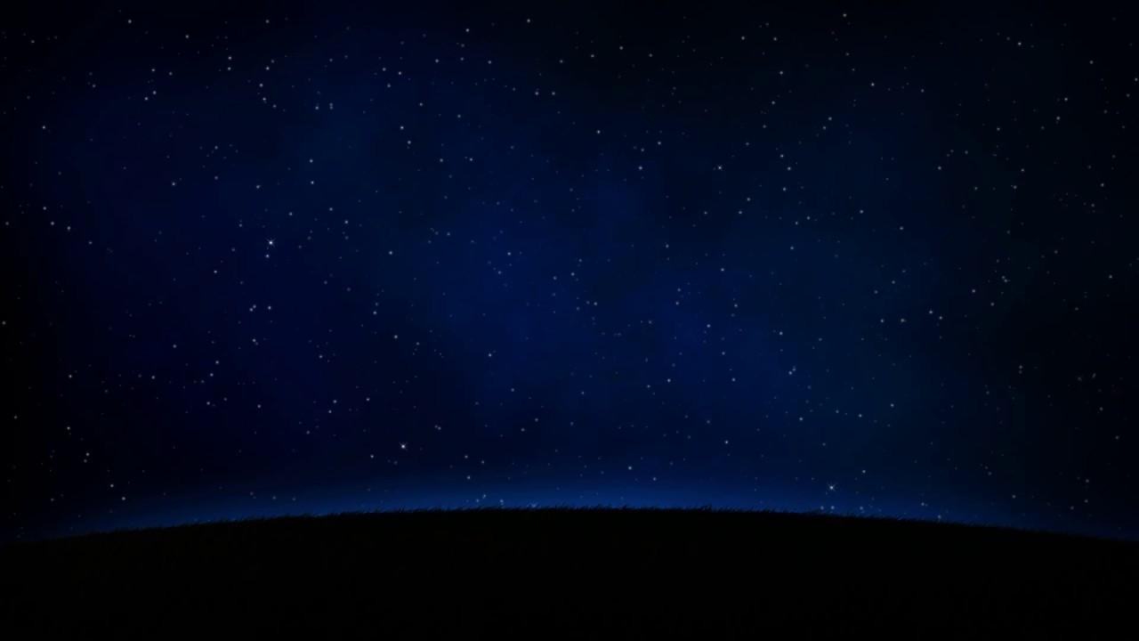 Fondo Video Background Full HD Personal Planet Noche Y