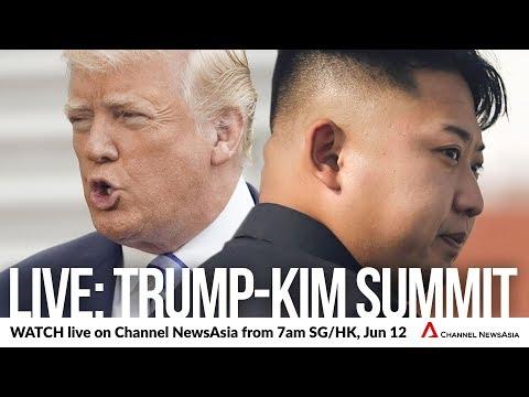 Trump-Kim Summit (June 12, 2018) | Teaser | Watch LIVE on Channel NewsAsia