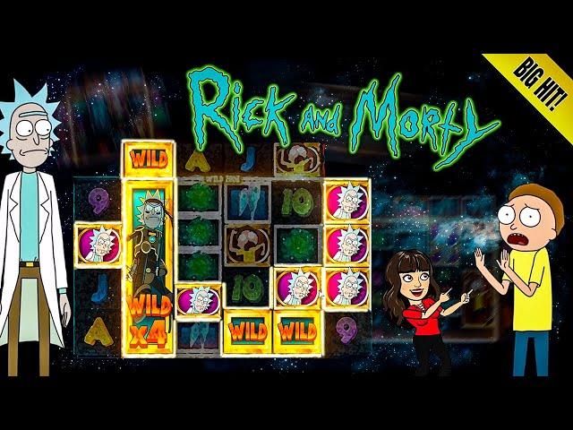 Rick and Morty Slot: Slots Big Win!