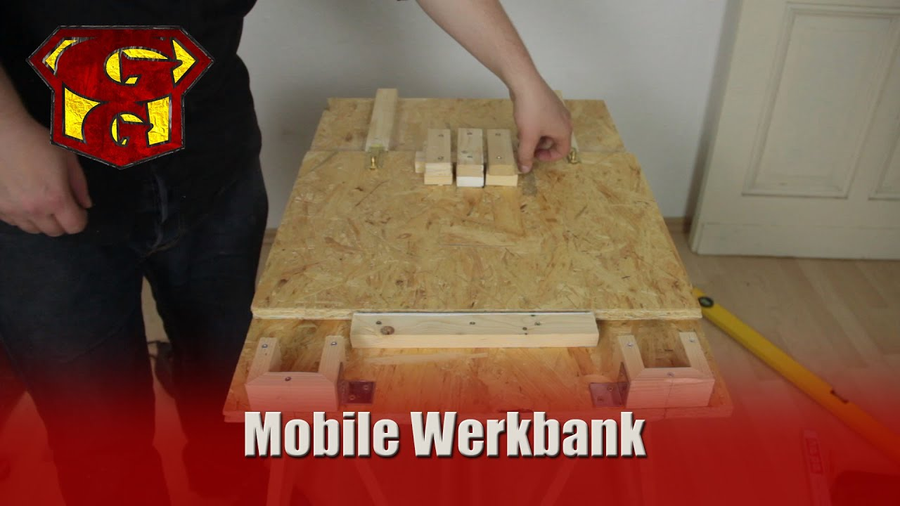 mobile werkbank f r 20 garagengurus 13 youtube. Black Bedroom Furniture Sets. Home Design Ideas