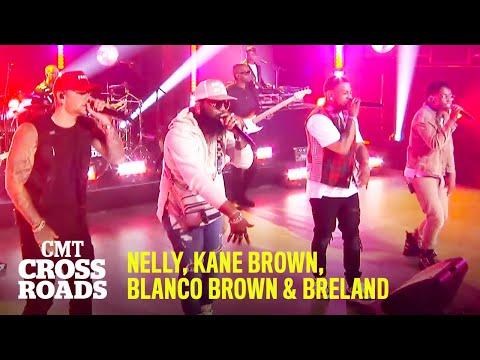 "Nelly, Kane Brown, Blanco Brown & Breland Perform ""Country Grammar"" | CMT Crossroads"
