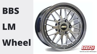 You will love the look of the LM!   The BBS LM Wheel is a classic two-piece design that has stood the test of time. The LM has a Die Forged motor sport cross-spoke center with an extremely rigid barrel with the classic BBS step lip.   The highest level of