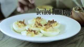 Deviled Tuna Eggs