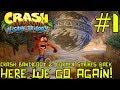 Here We Go Again! - Crash Bandicoot 2 HD #1 [PS4, 2017] (BLIND RUN - N. Sane Trilogy)