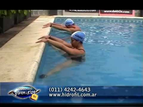 Yoga en el agua - Water Yoga - Hidrofit - Prof. Fernando Villaverde