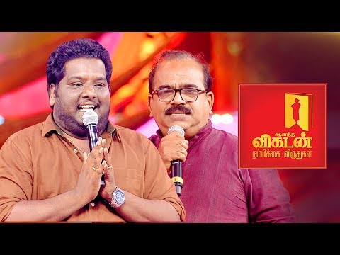 Nanjil Sampath on Vijay's Sarkar Politics | Black Sheep | Ananda Vikatan Nambikkai Awards 2018