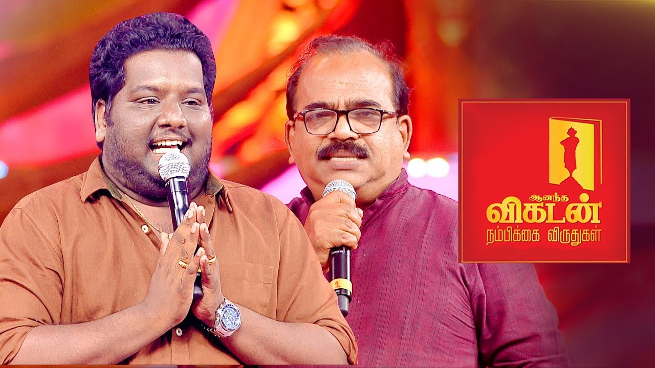 Nanjil Sampath on Vijay's Sarkar Politics | Black Sheep | Ananda Vikatan Nambikkai Awards 2018