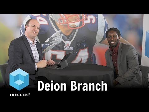 Deion Branch, Super Bowl XXXIX MVP - VTUG Winter Warmer - #VTUG - #theCUBE