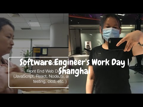 A day as a Software Developer Based in Shanghai, China