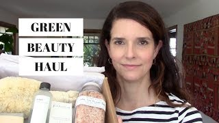 SPRINGTIME GREEN BEAUTY HAUL/ Art of Organics + Follain