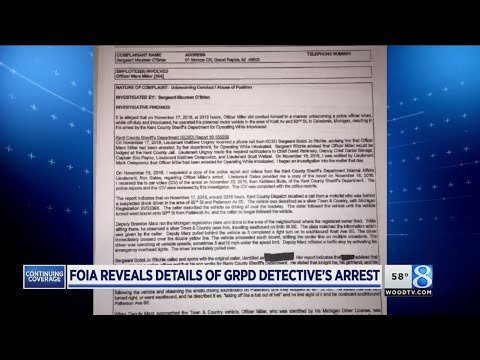 GRPD officer punished for unbecoming conduct and abuse of position