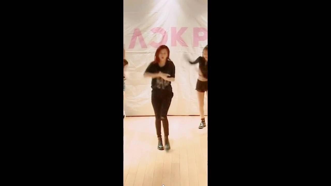 Blackpink 불장난 Dance Practice Video Jisoo Focus