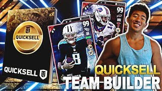 THE QUICKSELL TEAM BUILDER! GOLDEN TICKET WAGER VS THE MUTWEINERS! MADDEN 17 ULTIMATE TEAM