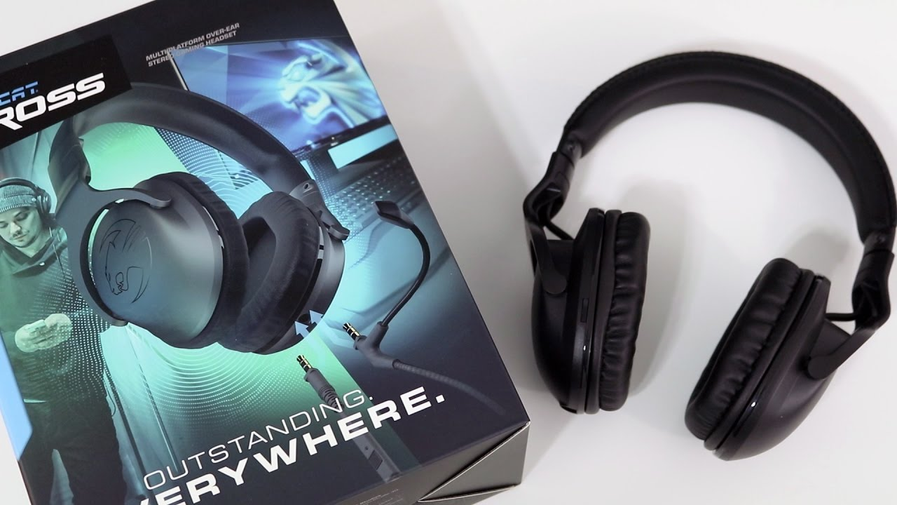 Roccat Cross Gaming Headset Review Youtube