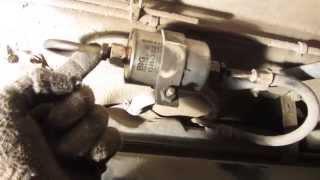 Замена топливного фильтра на ВАЗ 2110, 2111 и 2112 инжектор