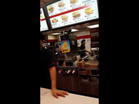 Bozghoru la McDonalds in China