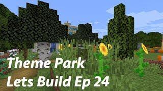 El Parque dentro de un Parque - Hide n Seek - Minecraft Lets Build a Theme Park Ep 24