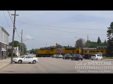 UP Family Day Special Leaving Illinois Railway Museum