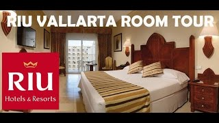 RIU VALLARTA Mexico All Inclusive ROOM TOUR