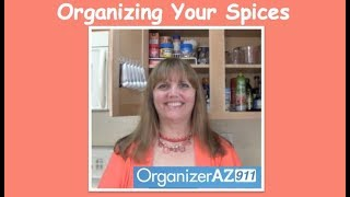 Organizing Your Spices Tip Clip (Organizer AZ 911)