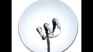 установка спутниковой антены (3 спутника)