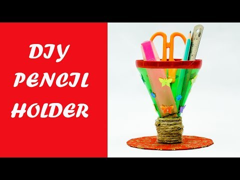 waste-material-craft-ideas---pencil-holder