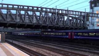 (HD) A First Great Western Class 43 HST arrives at Paddington from the west