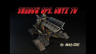 War Commander - Shadow Ops - The Prophet Parts And Envoy Tech. Onyx (70)