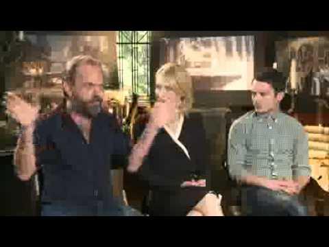 Intervju Hobit: Nepričakovano potovanje - Hugo Weaving, Cate Blanchett in Elijah Wood