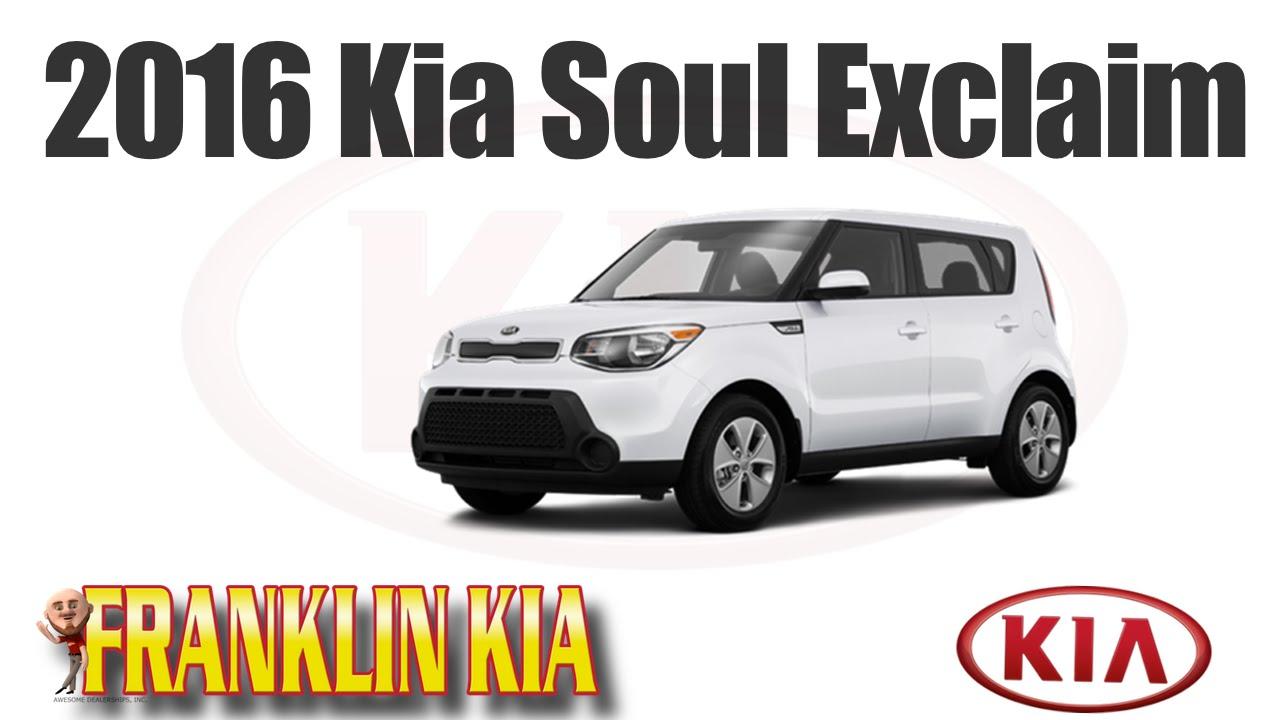 2016 Kia Soul Exclaim With Panoramic Sunroof Franklin Nashville Tn