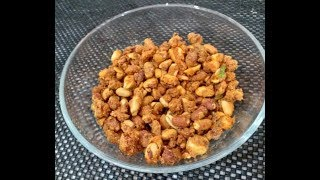 Peanut Masala II Haldiram Nut Crackers Recipe in Hindi II मूँगफली मसाला II Kirans Cooking