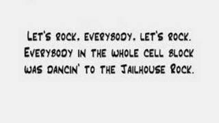 Elvis Presley - Jailhouse Rock (Lyrics)