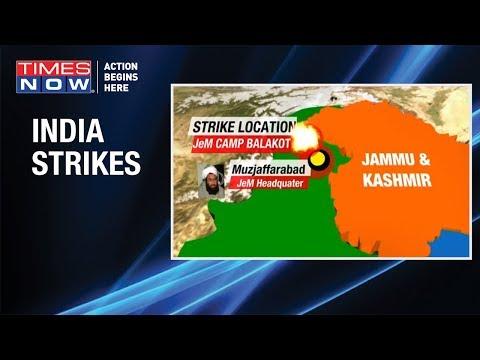 IAF jets strike terrorist camp across LoC, J-e-M terror camp in Balakot destroyed