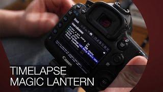Timelapse mit Magic Lantern und Auto Exposure