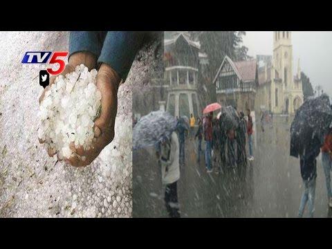 Cold Wave Hits North India | Rain, Snowfall In Himachal  Uttarakhand | TV5 News