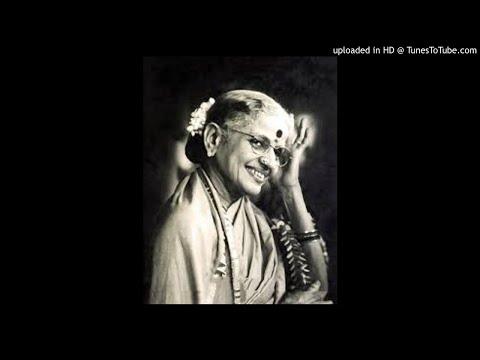 MS Subbulakshmi-O Rangashayi Pilacite-Kambhoji-Adi-Thyagaraja