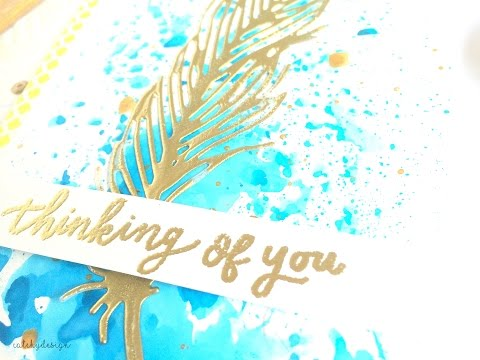 Delicate Feather | Sizzix