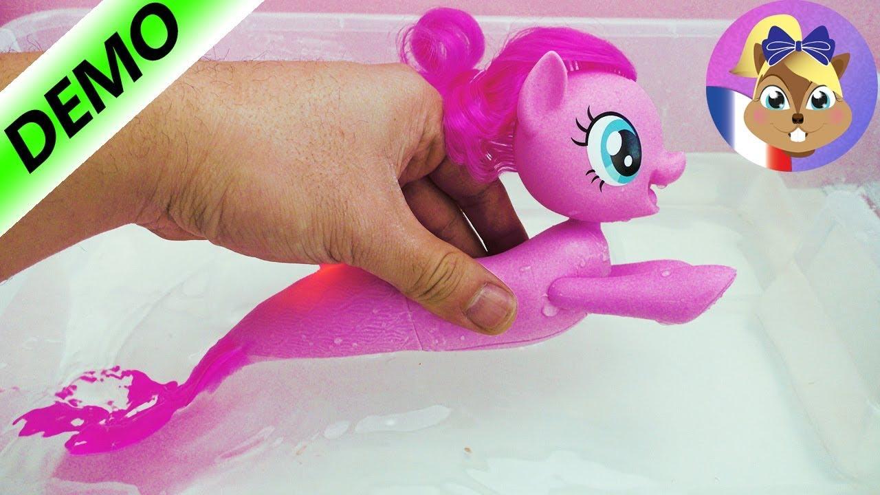 Pate A Modeler Pour Le Bain jouet pour le bain - my little pony pinkie pie   joue avec moi