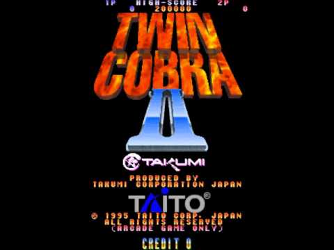 Twin Cobra II (Arcade Music) Stage 1