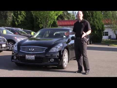 2010 Infiniti G37S 6 speed review - A quick look at the 2010 Infiniti G37S sedan