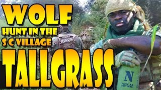 WOLF Hunts in the Tall Grass!