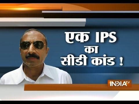 IPS Officer Sanjiv Bhatt Gets Notice over 'Sex Video' from Gujrat Government - India TV