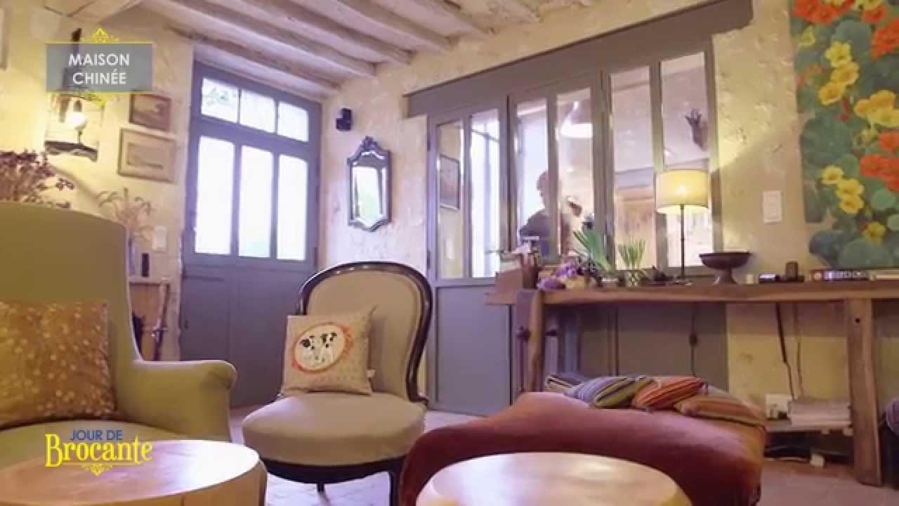maison chinée à st mard de reno - jour de brocante - youtube