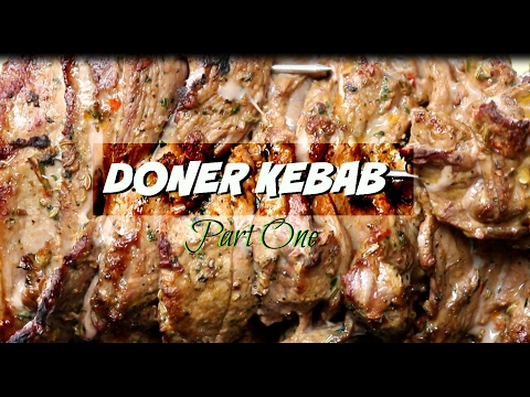 Doner Kebab Recipe  _ How To Make Doner Kebab At Home