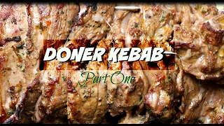 Doner Kebab Recipe  _ How to make Doner Kebab at home