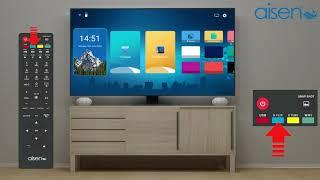 AISEN Smart TV - Remote Features