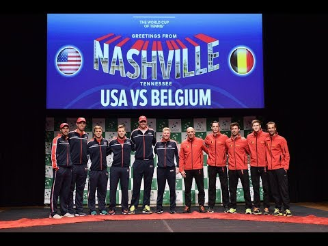 2018 Davis Cup: Team USA Tennis Draw Ceremony, Meet and Greet, and Press Conference