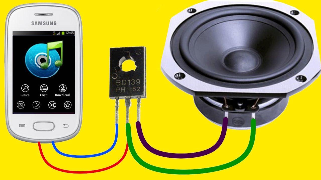 Como Hacer un Amplificador de Audio Casero Super Potente! - YouTube